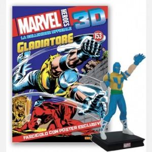 Marvel Heroes 3D - La collezione ufficiale Gladiator (Melvin Potter)