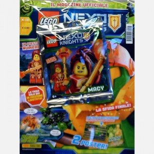 Lego Nexo Knights Lego Nexo Knights N° 18 + una figurina Lego® ufficiale!