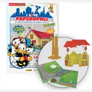 I Love Paperopoli Uscita N° 6 (3 parti casa Paperino + 2 pezzi basi)