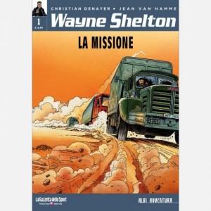 Albi avventura Wayne Shelton 1