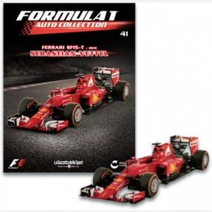 Formula 1 - Auto Collection Sebastian Vettel - Ferrari SF15-T del 2015