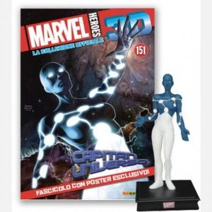 Marvel Heroes 3D - La collezione ufficiale Captain Universe (Tamara Devoux)