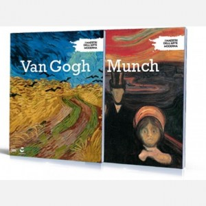 I maestri dell'arte moderna (ed. 2019) Van Gogh - Munch