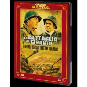 LA BATTAGLIA DEI GIGANTI Henry Fonda Robert Shaw DVD FILM