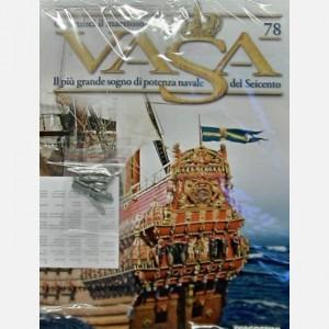 Costruisci il maestoso Vasa Cavaliere con scudo C13, C14, C19, Decorazione di poppa C47, Decorazione di poppa C48, Decorazione di poppa C49, Decorazione di poppa C50