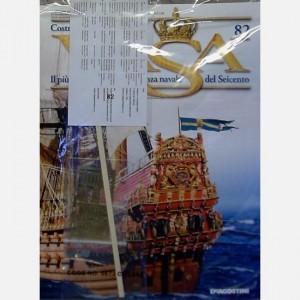 Costruisci il maestoso Vasa Componenti scale di metallo, Listella da 0,5x5x300 mm, Decorazioni C20