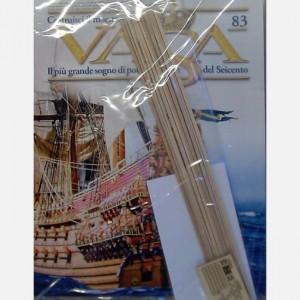 Costruisci il maestoso Vasa Listelli 2x3x300 mm, Listelli 3x3x300 mm, Listelli da 1,5x1, x300 mm, Attrezzature ponte e impavesata HR1 - HR4
