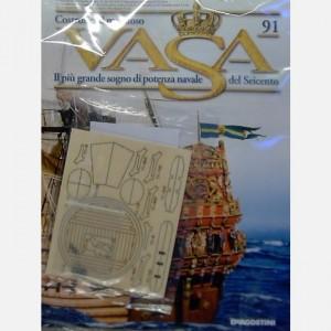 Costruisci il maestoso Vasa Componenti di un coffa T1-1/T1-13, Secchi, Manici dei secchi