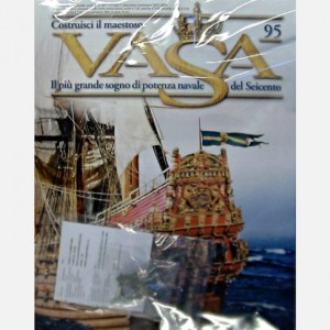 Costruisci il maestoso Vasa Tettuccio C91 e decorazioni C91e, C91f, C91i, C91l, C91m (6 pezzi)