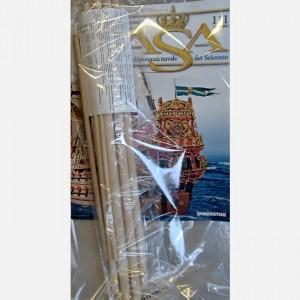 Costruisci il maestoso Vasa Decorazione dello sperone C122, C123, C138, C139, Teste di leone dei portelli delle cannoniere C20, Tondini di legno diam. 12 x 400 mm, Tondini di legno diam. 9 x 380 mm, Tondini di legno diam. 7 x 300 mm, Tondino di legno diam