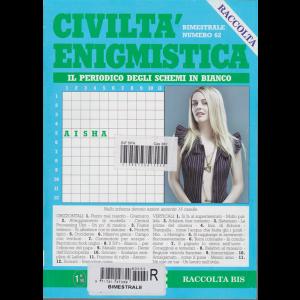 Raccolta - civiltà enigmistica - n. 62 - bimestrale -