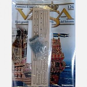 Costruisci il maestoso Vasa Tavoletta di legno con pezzi pretagliati,Elementi in ottone, Decorazioni C62