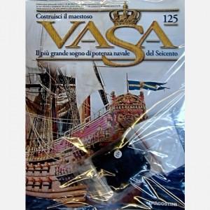 Costruisci il maestoso Vasa Filo nero ø0,5 mm (90 metri), Decorazioni C170, C171, Bozzelli semplici da 5 mm