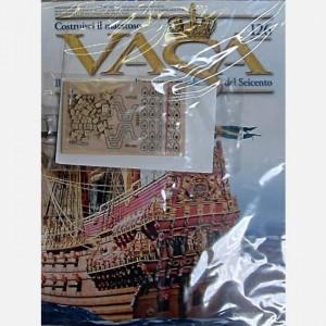 Costruisci il maestoso Vasa Tavoletta di legno con pezzi pretagliati, Bozzelli tripli da 7 mm item 8532, Bozzelli semplici da 5 mm