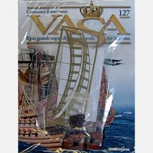 Costruisci il maestoso Vasa Vela S1, Anelli di ottone, Figurino C59