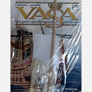 Costruisci il maestoso Vasa Vela S3,Tavoletta di legno con pezzi pretagliati, Bertocci