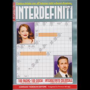 Interdefiniti - n. 6 - bimestrale - dicembre - gennaio 2018 - 100 pagine - 100 giochi