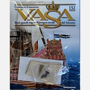 Costruisci il maestoso Vasa Vela S5, Decorazione C163, Decorazione C164, Decorazione C167, Golfari 4 mm