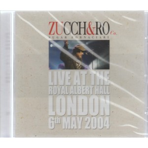 Zucchero Sugar Fornaciari - Live at Royal Albert Hall - London 6th May 2004 (CD)