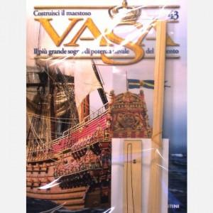 Costruisci il maestoso Vasa Dritto di prua, Listelli da 0,5 x 5 x 300 mm