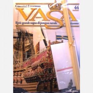 Costruisci il maestoso Vasa Decorazione, Listelli da 0,5 x 5 x 300 mm