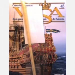 Costruisci il maestoso Vasa Listelli da 0,5 x 5 x 300 mm, Parti figurino C56a, C56b