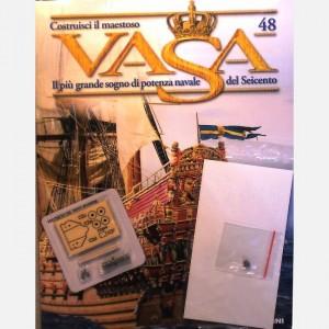 Costruisci il maestoso Vasa Corona C29, Canna cannone e orecchioni, Perno ruote, Affusto e ruote