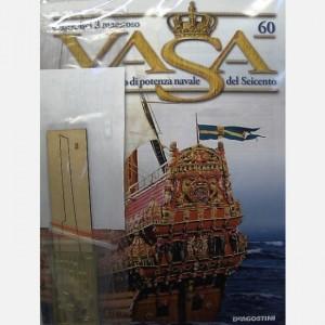 Costruisci il maestoso Vasa Timone n. 88, Cardini timone, Chiodini da 5 mm
