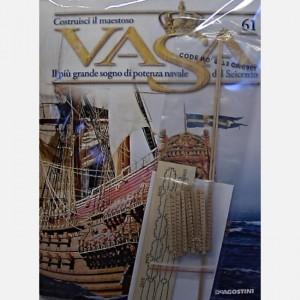 Costruisci il maestoso Vasa Battenti dei pagliolati, Travetti dei pagliolati, Listelli da 2 x 2 x 300 mm