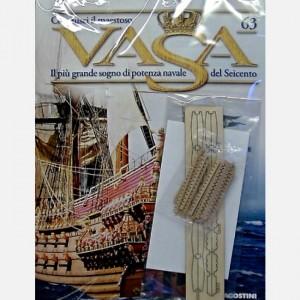 Costruisci il maestoso Vasa Battenti dei pagliolati, Travetti dei pagliolati