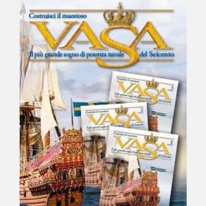 Costruisci il maestoso Vasa Decorazione C106, C107, C108, C109, Pezzi fotoincisi, Tondini diam. 2 x 300 mm