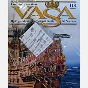 Costruisci il maestoso Vasa Decorazioni di una galleria C160, C161, C162, Mezze canne C174