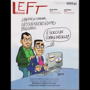 Left Avvenimenti - n. 46 - 16 novembre - 22 novembre 2018 - settimanale