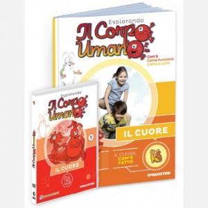 """Esplorando il Corpo Umano - 27esima edizione Fascicolo """"Il cuore"""" + DVD in HD"""
