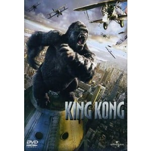 King Kong Film in DVD - Jack Black, Naomi Watts, Adrien Brody