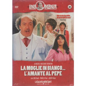 Lino Mania - La moglie in bianco...l'amante al pepe,Lino Banfi,Pamela Prati (DVD)