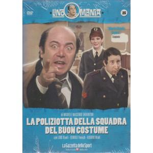 Lino Mania - La poliziotta della squadra del buon costume, Lino Banfi (DVD)