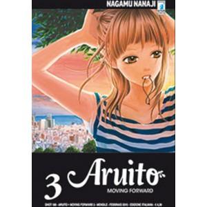 Manga ARUITO-MOVING FORWARD n.3-Star Comics-coll.SHOT uscita 188