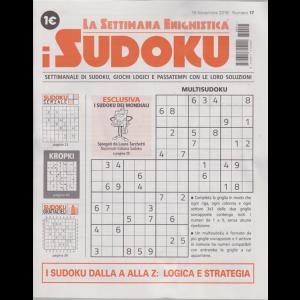 La settimana enigmistica i sudoku - n. 17 - 15 novembre 2018 - settimanale