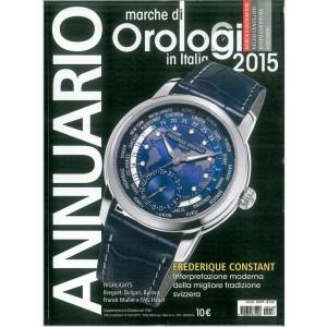 ANNUARIO marche di orologi in Italia 2015