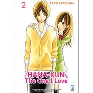 Manga HANA-KUN, THE ONE I LOVE n.2-Star Comics-coll.UP uscita 135
