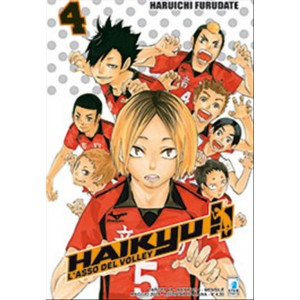 Manga HAIKYU!! n.4 - ed. Star Comics-collana Target n.48