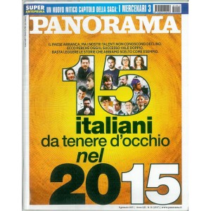 Settimanale PANORAMA - Gennaio n. 1/2015