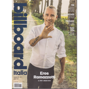 Billboard Italia - n. 11 - novembre 2018 - mensile -