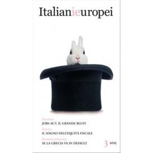 Italianieuropei  - n.3/2015 - Rivista bimestrale