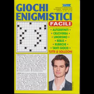 Giochi enigmistici facili - n. 60 - bimestrale - dicembre - gennaio 2019