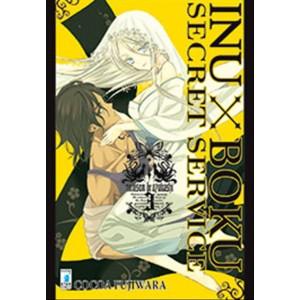 Manga INUBOKU SECRET SERVICE n.3-ed. Star Comics-coll.Target n.49