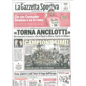 La Gazzetta Sportiva - Domenica 24 Maggio 2015