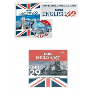BBC english GO! - Unit 29° DVD - edizione Il Sole 24 Ore