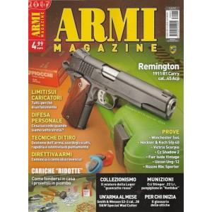 "Armi Magazine - mensile n. 7 Luglio 2017 ""Remington 1911 R1 Carry Cal..45 Acp"